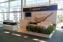 Expo Stand Design Exhibition for Rosgeo